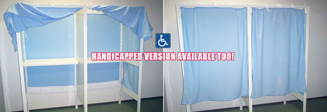 voting boxes in handicapped version available
